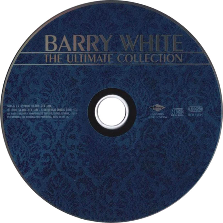 Barry White Ultimate Collection: Index Of /caratulas/B/Barry_White