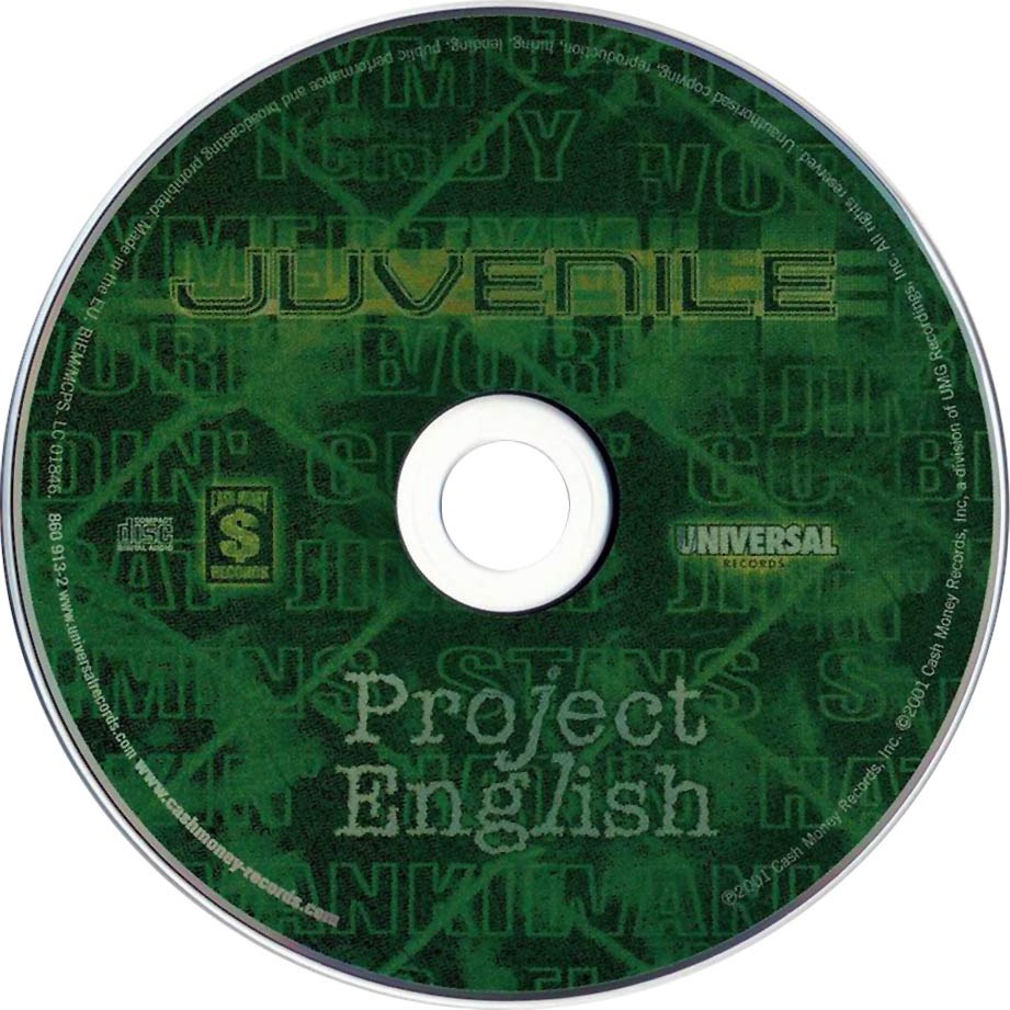 juvenile project english Juvenile's strange, kinetic, undeniably infectious southern anthem ha unforgettably paired the rapper's slurred, impressionistic take on life in the projects with in-house super-producer.