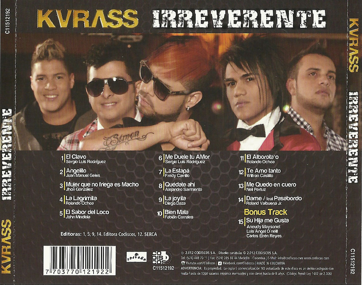 kvrass irreverente