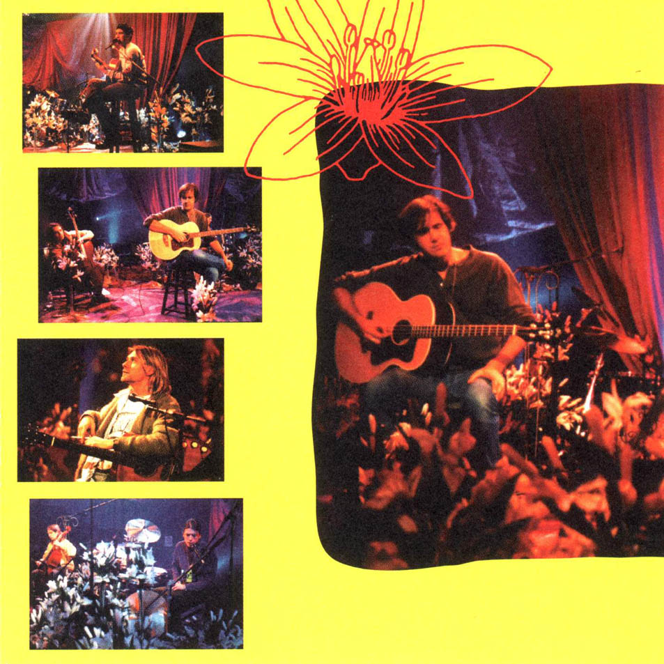 Nirvana unplugged in new york interior