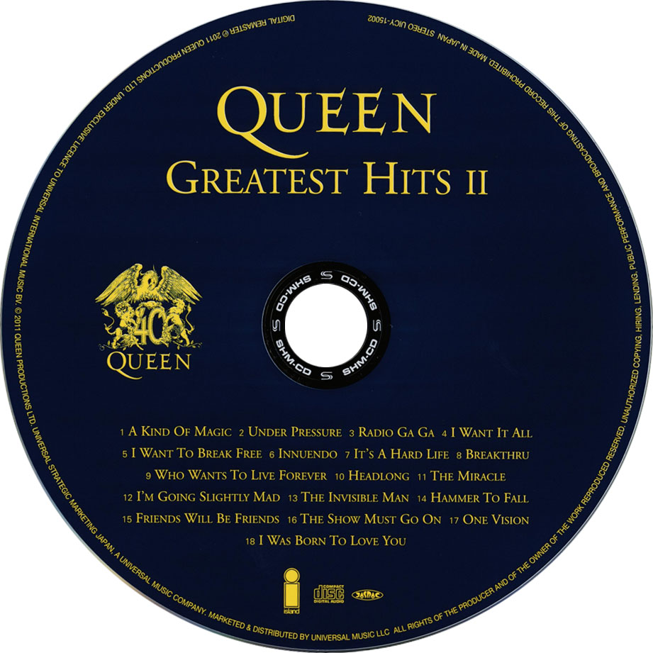 Queen Greatest Hits We Will Rock You Edition Queen Greatest ...