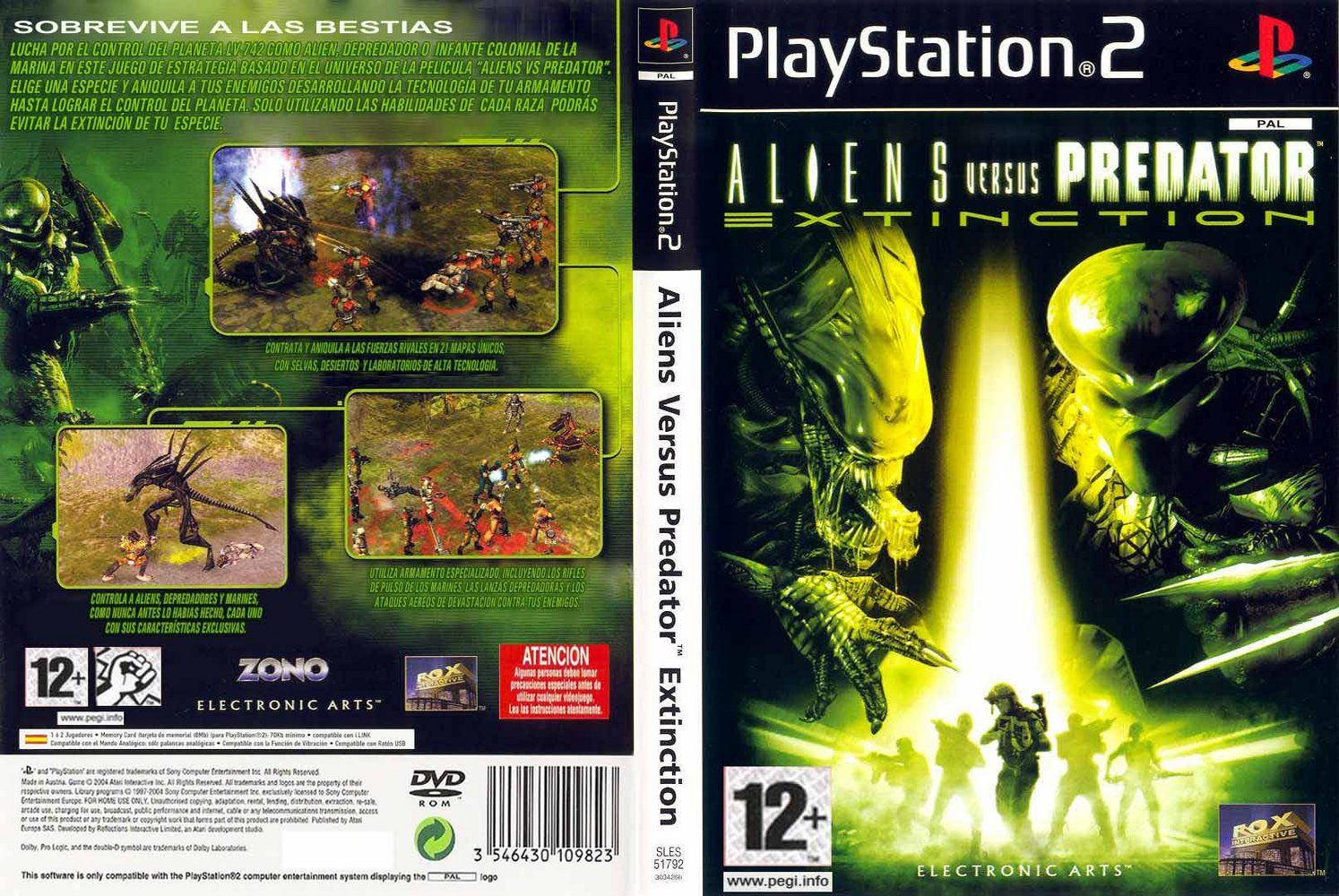 AlienVSDepredador Alien_Vs_Predator_Extinction-DVD-PS2