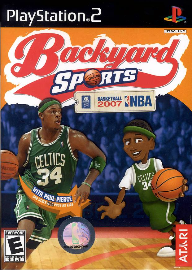 backyard sports basketball 2007 frontal