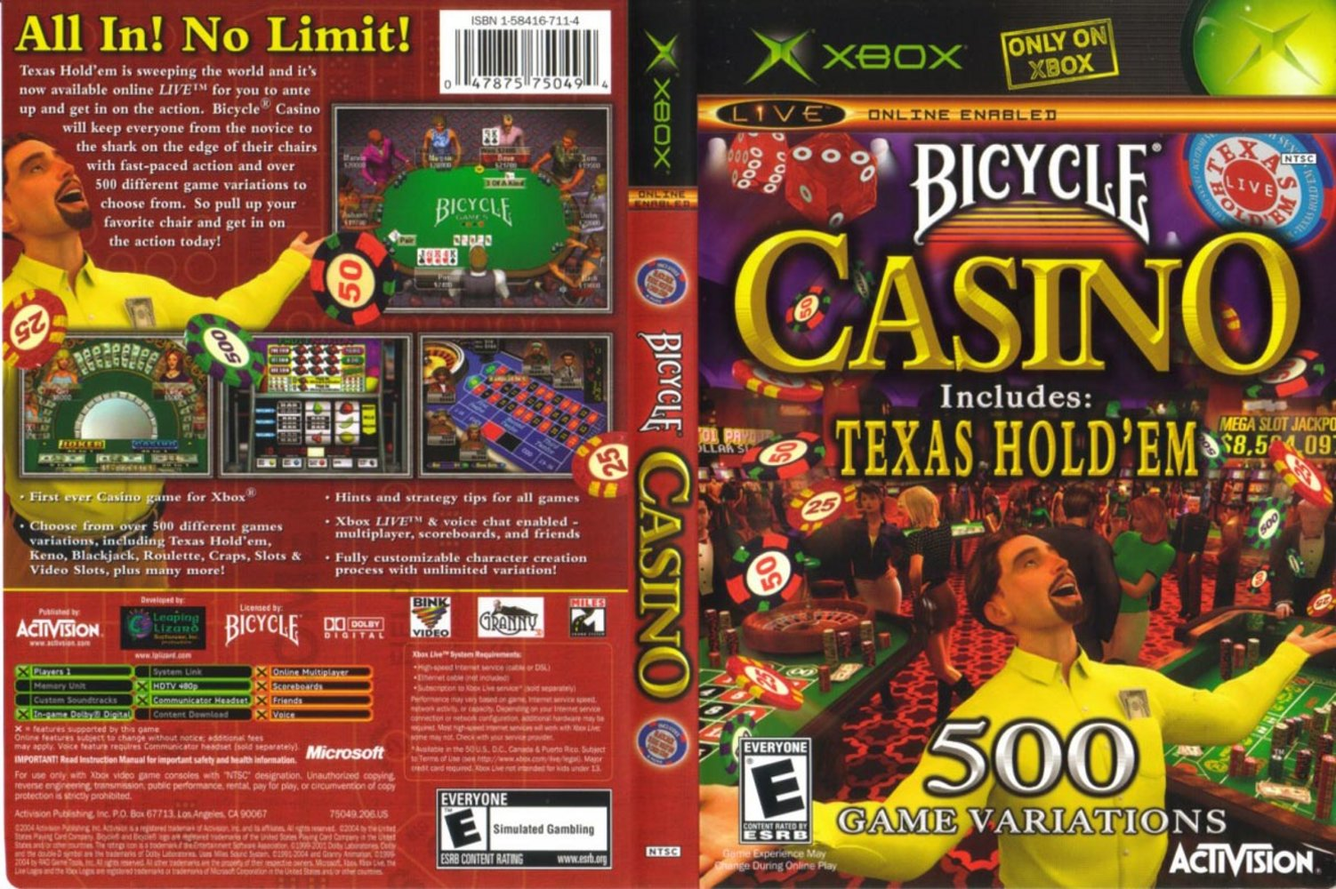 Bicycle casino game xbox mount airy casino wilkes-barre