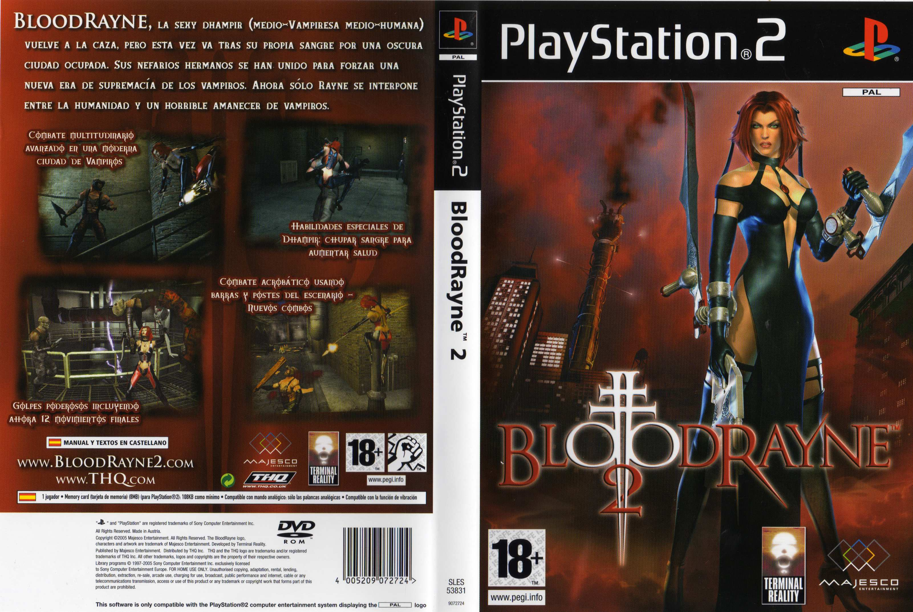 Bloodrayne 2 full nude cheat ps2 xxx clips
