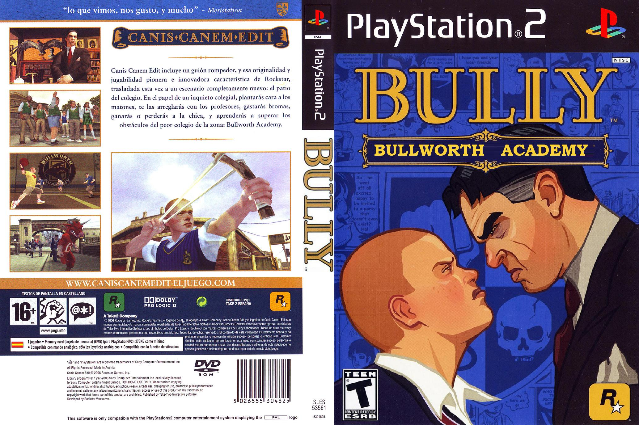 bully ps2 iso