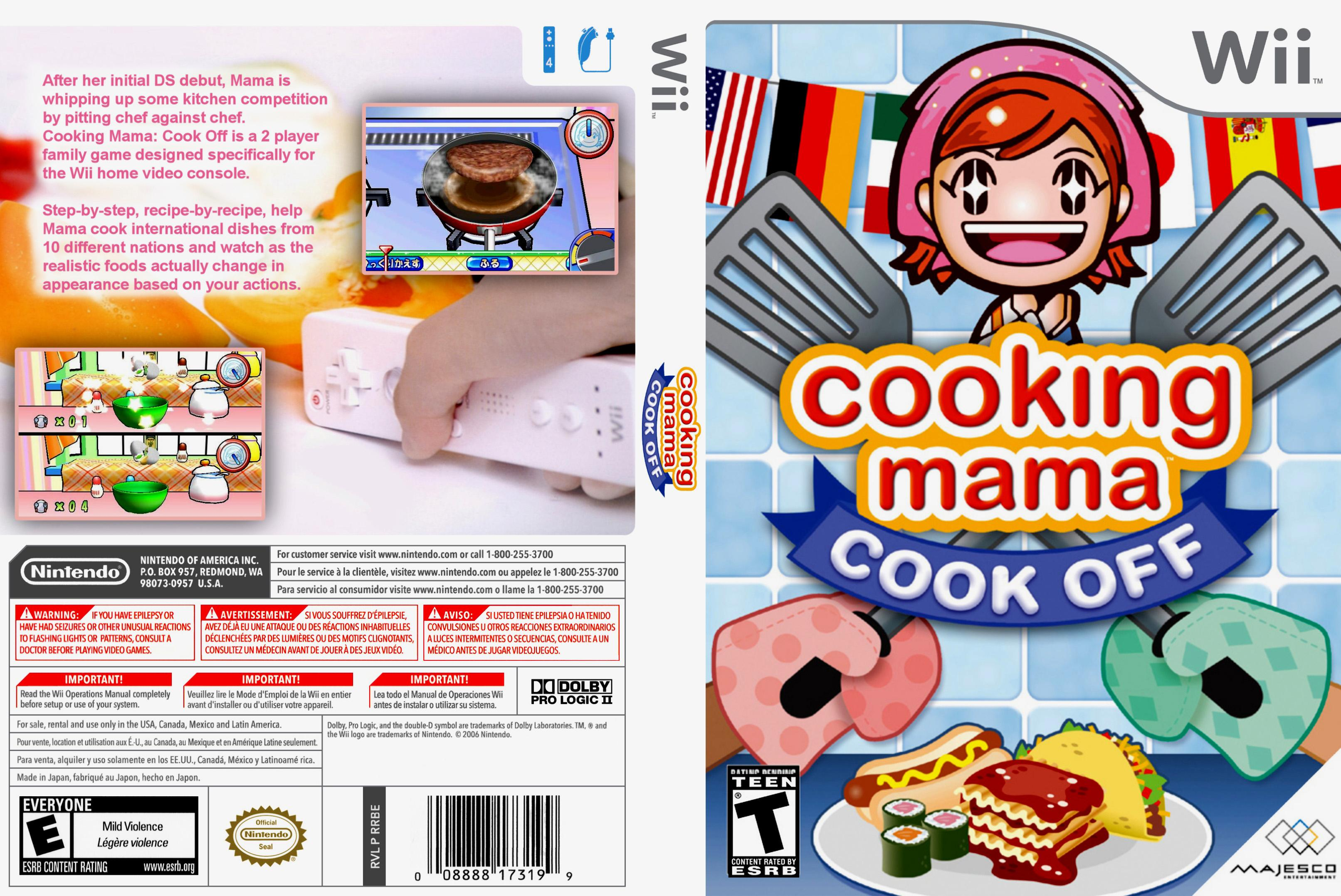 Cooking Mama Wii Pack