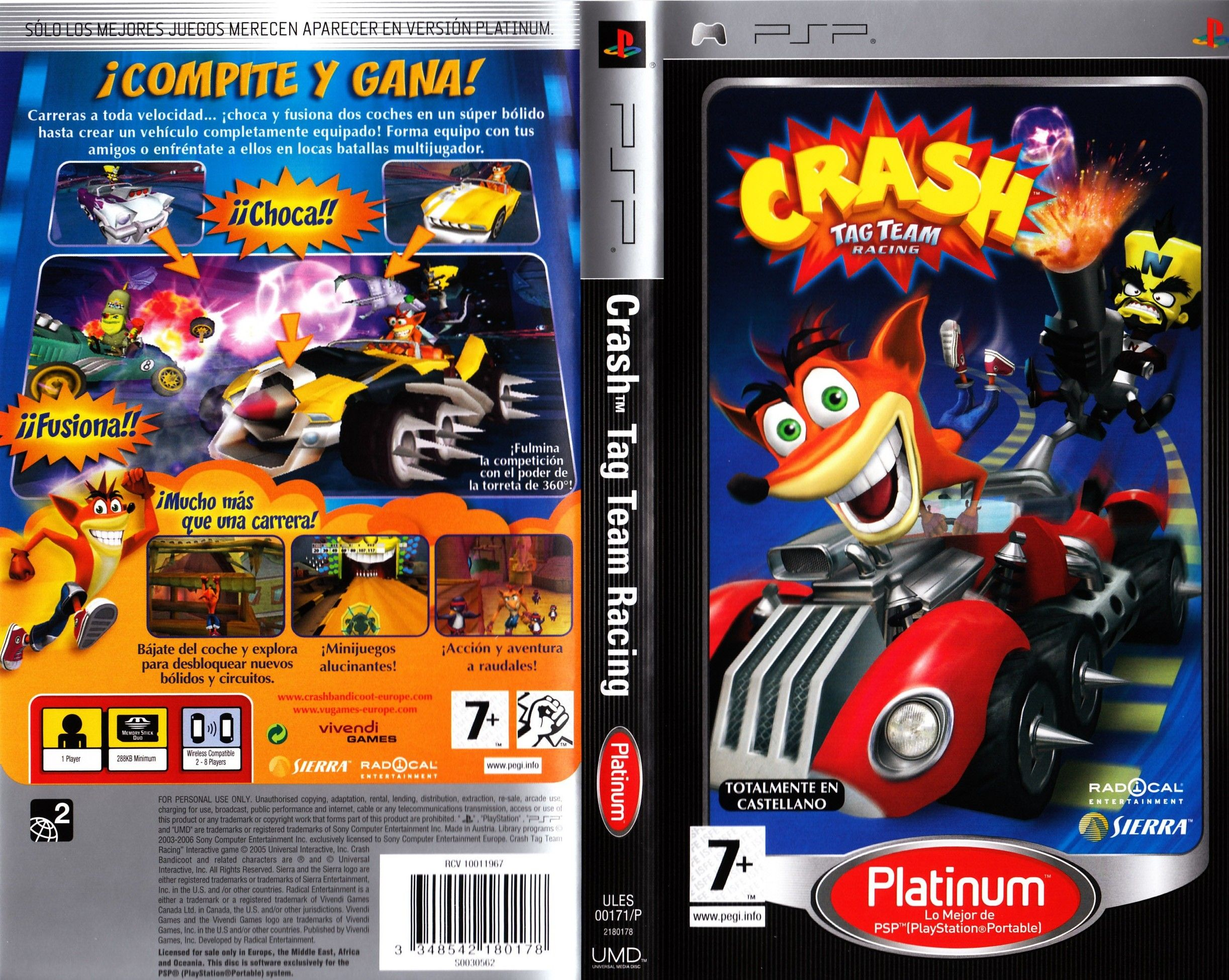 Crash Tag Team Racing Psp | www.imgkid.com - The Image Kid ...