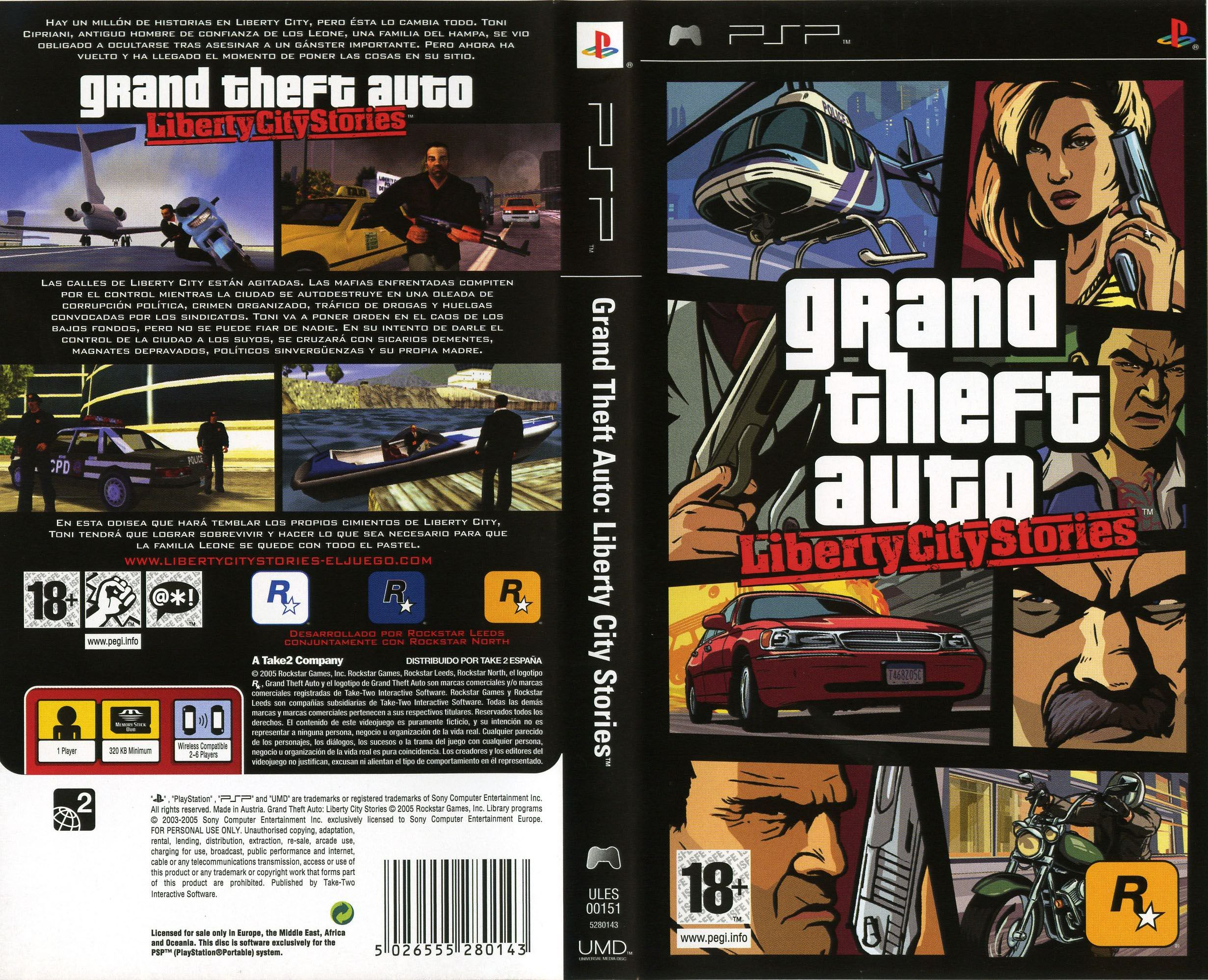 descargar grand theft auto liberty city stories para psp