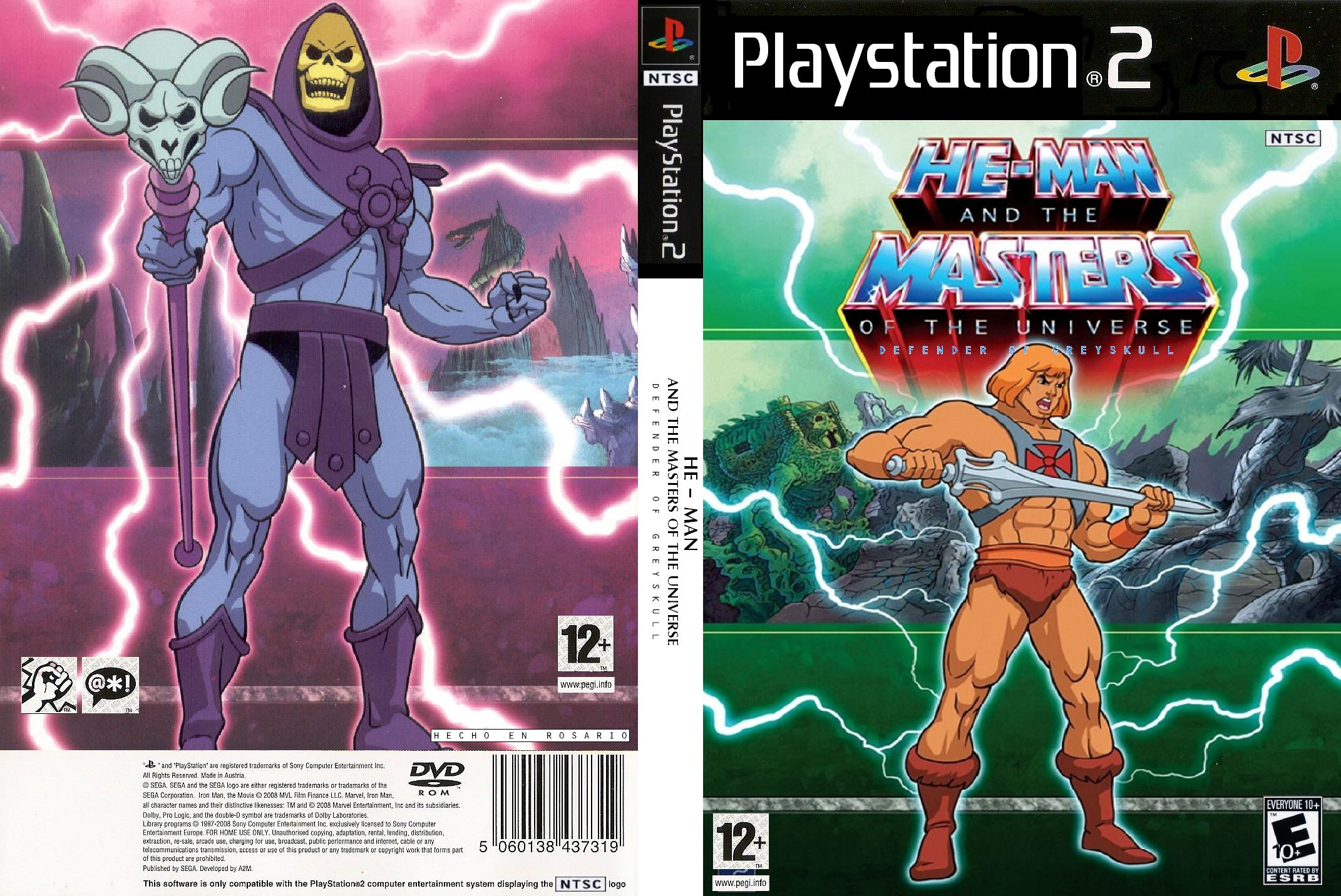 He-Man Defender Of Grayskull Ps2