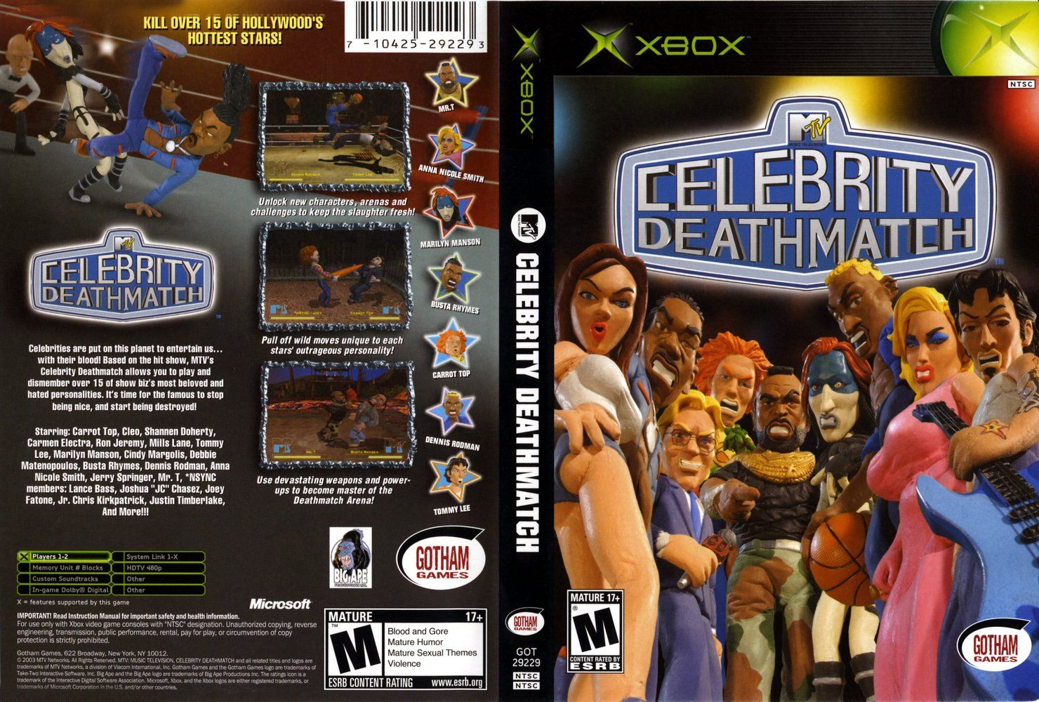 MTV's Celebrity Deathmatch for PC Reviews - Metacritic