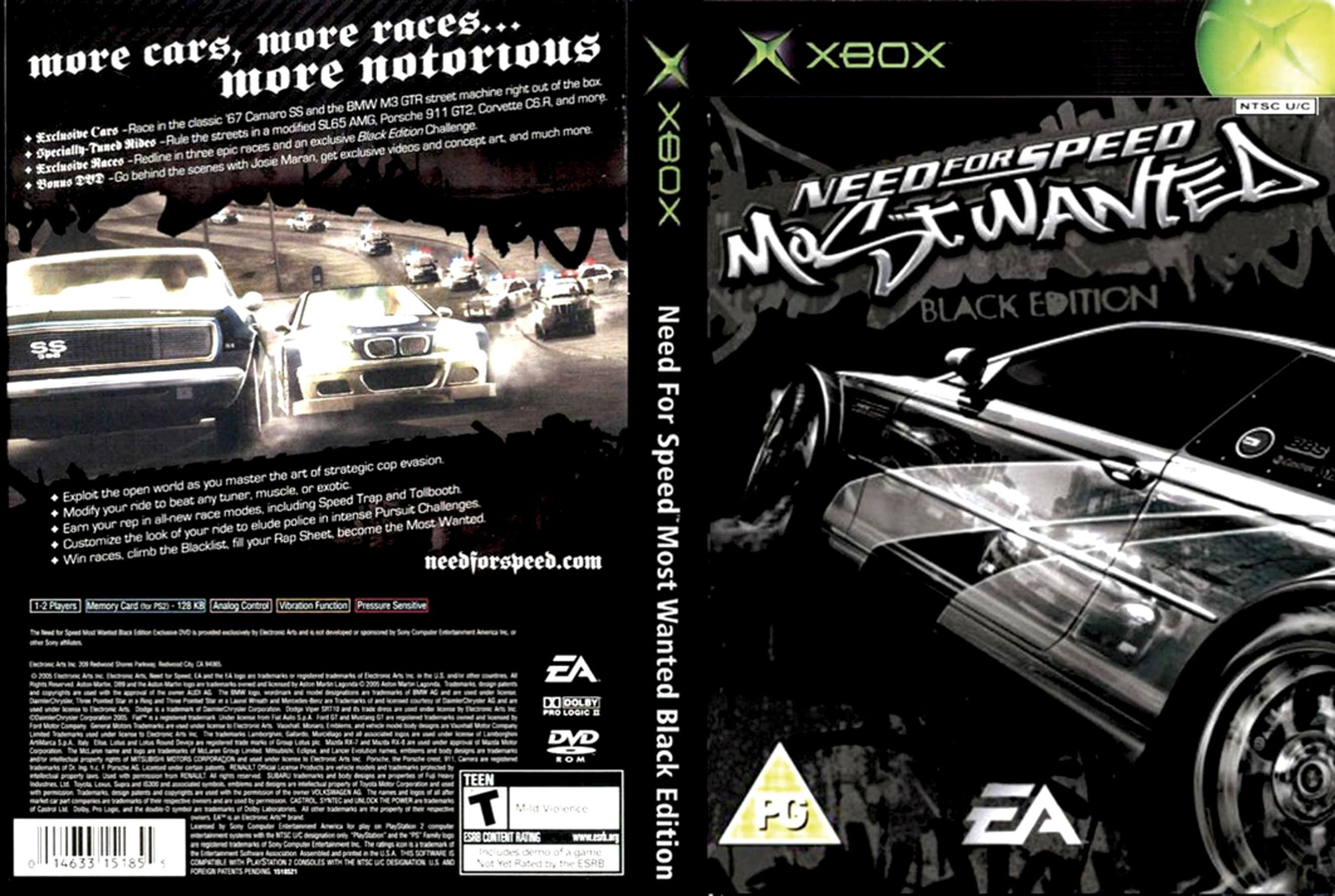 Need For Speed Most Wanted Black Edition Trainers For Pc Pokscg