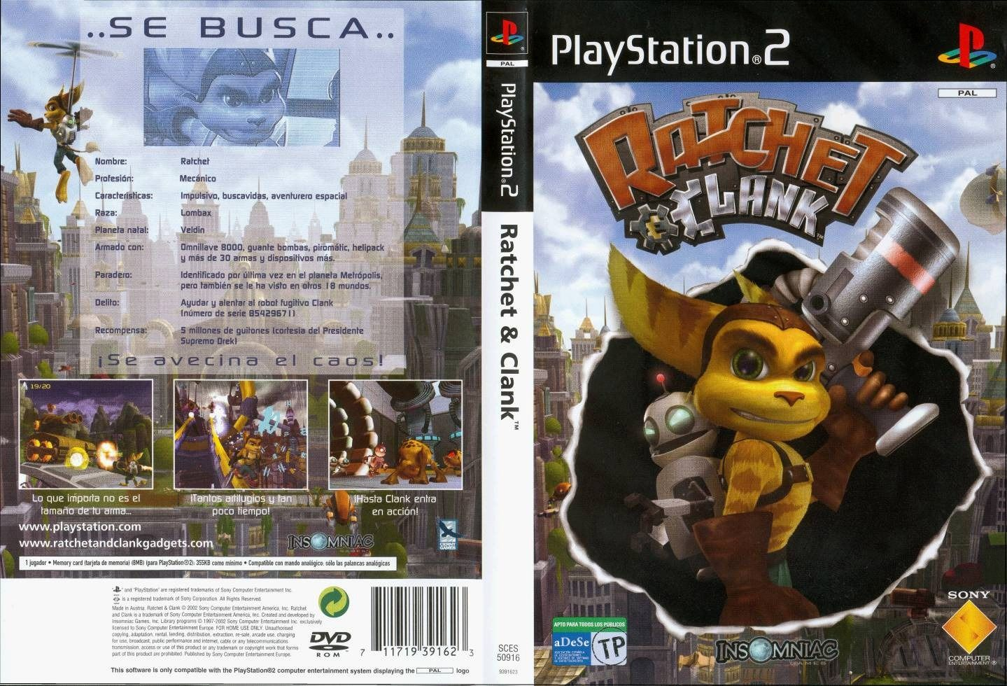 descargar ratchet and clank para pc