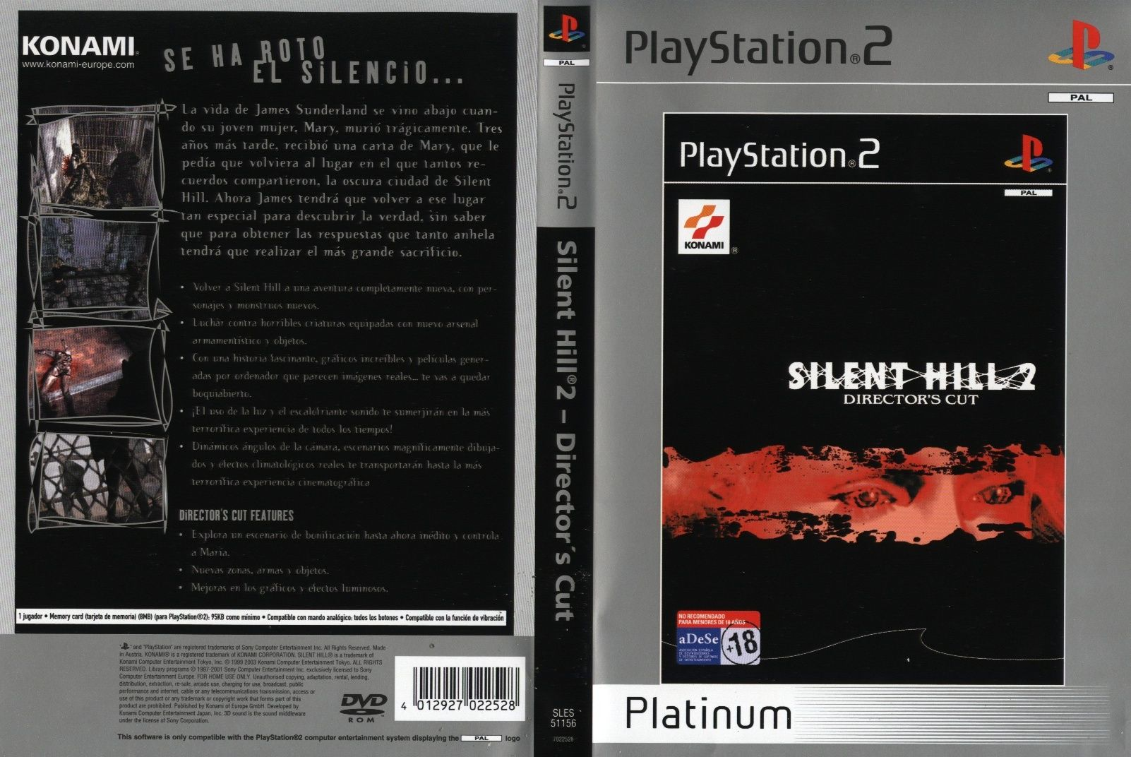 What Are The Graphical Differences Between Silent Hill 2