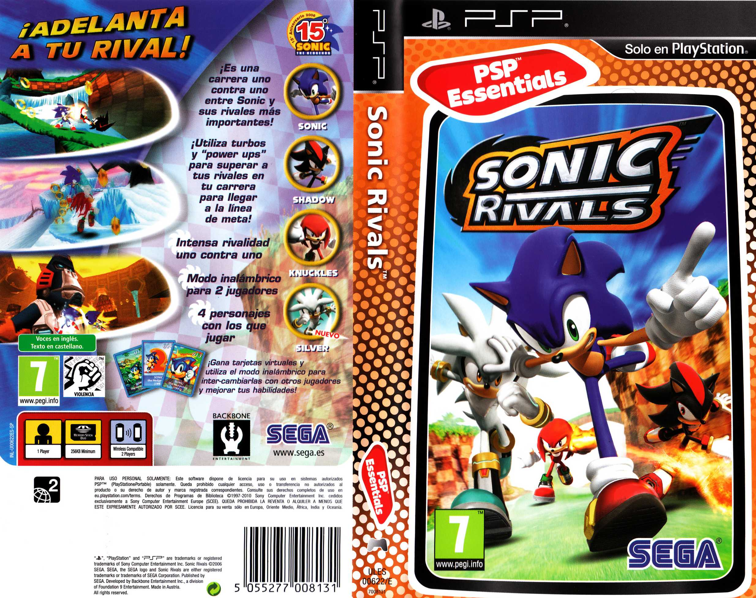 Sonic rivals 2 cso download