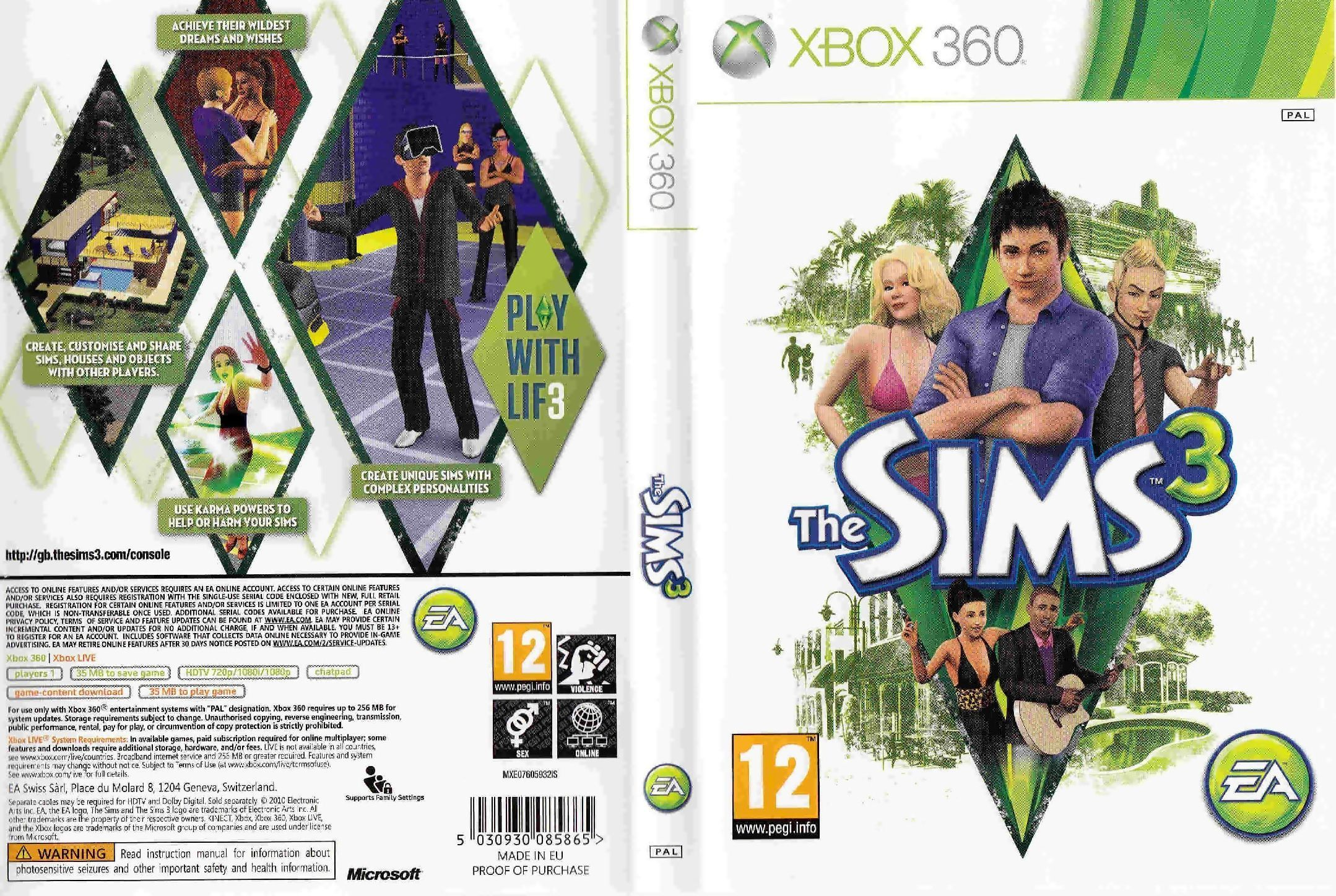 Question for The Sims 3 Pets. I have sims3 pets for the xbox just put my online pass code in and then go to the exchange to look for items to buy, in the search part also put the keyword in, but nothing is showing. In the boxes can anyone help as I v been looking for ages and I'm getting fed up now and I am connected to Ea.