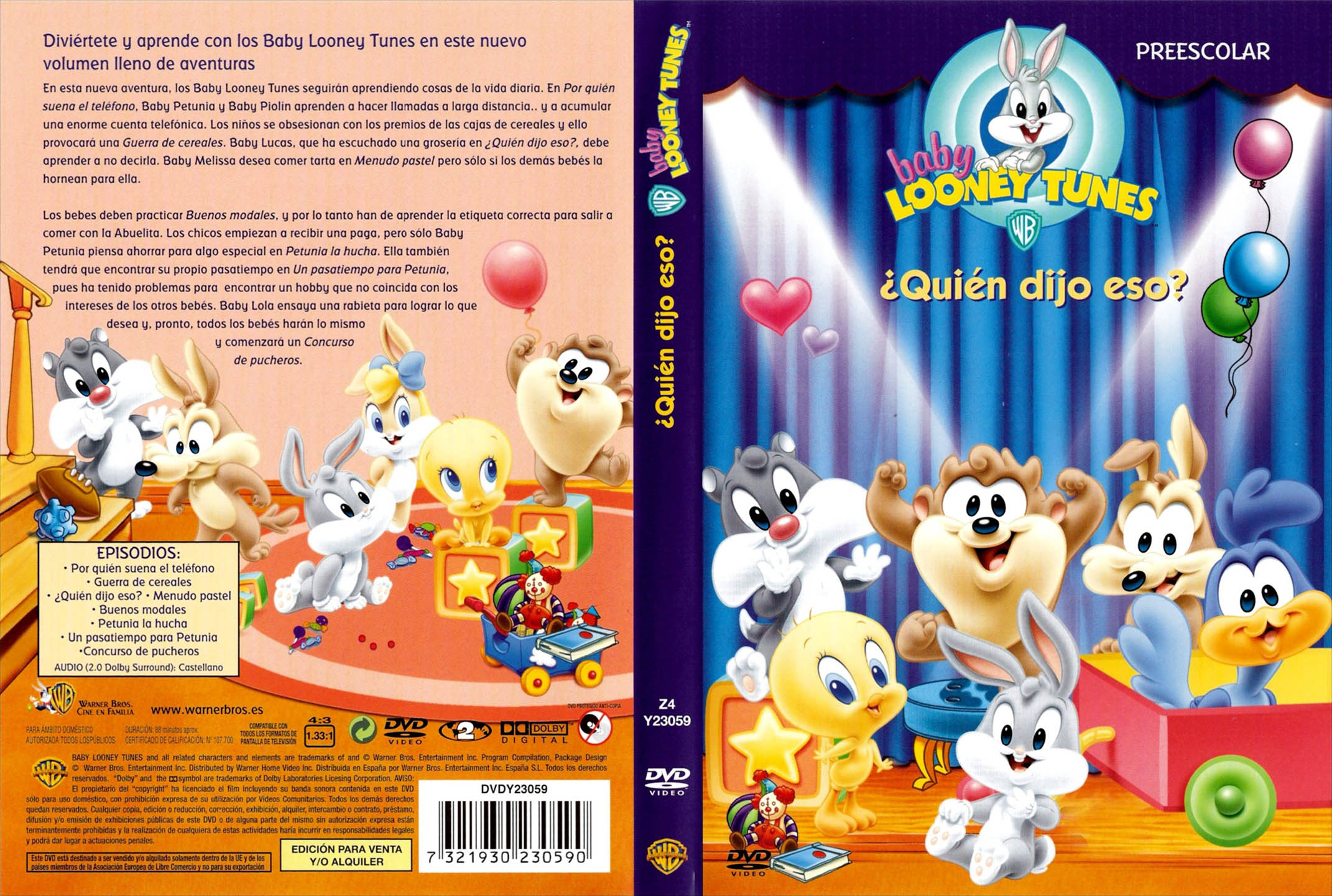 Baby Looney Tunes Crying