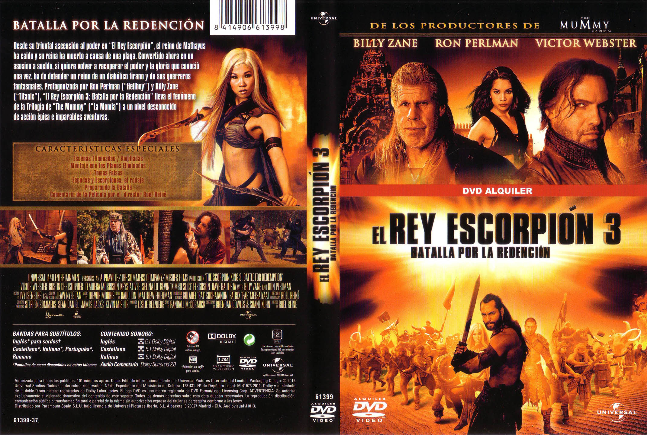 el rey escorpion: