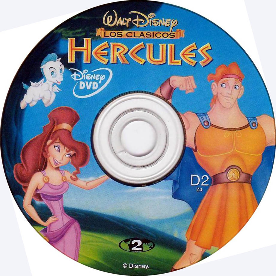 Disney Hercules DVD-Cover