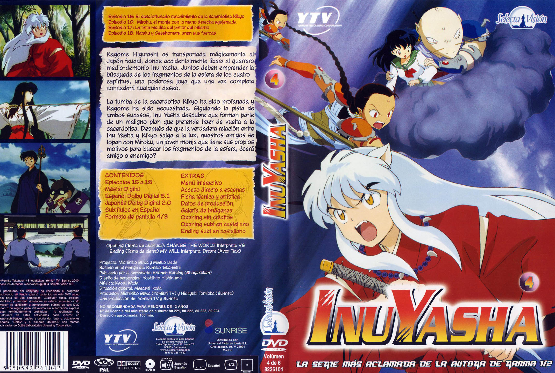 Inuyasha DVD-Cover