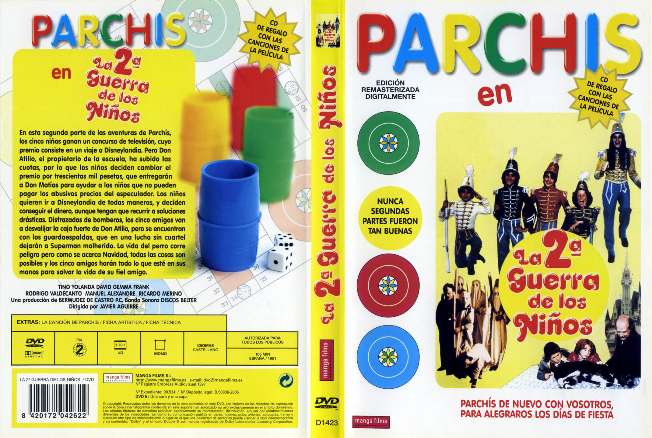 Foto actual de los parchis 85