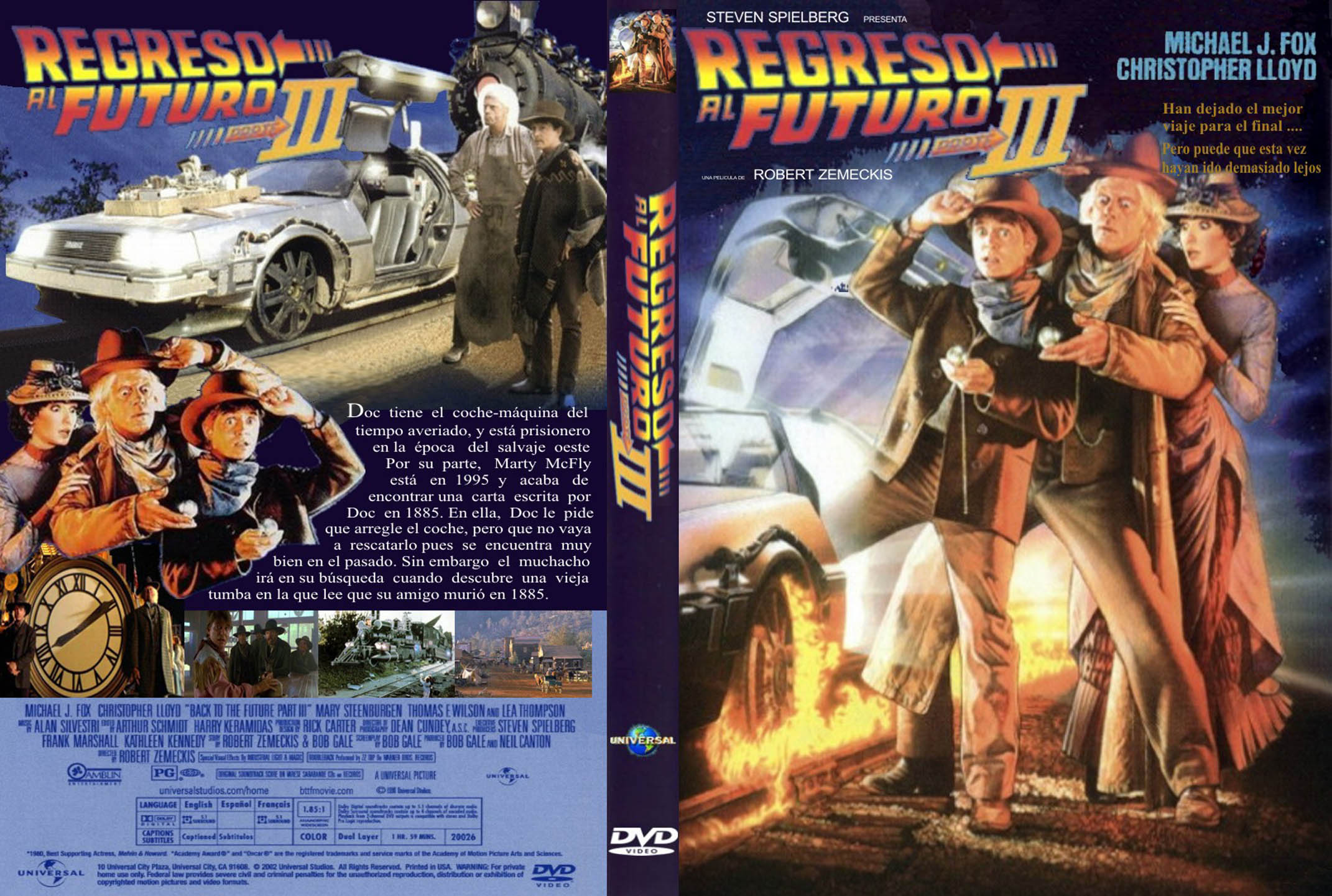 Trilogía Back To The Future [BrRip] [Dual Audio] [Mega]