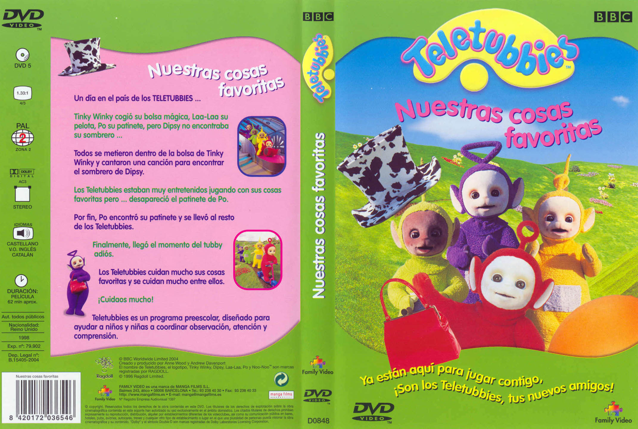Teletubbies Musical Playtime 1999 Cadillac