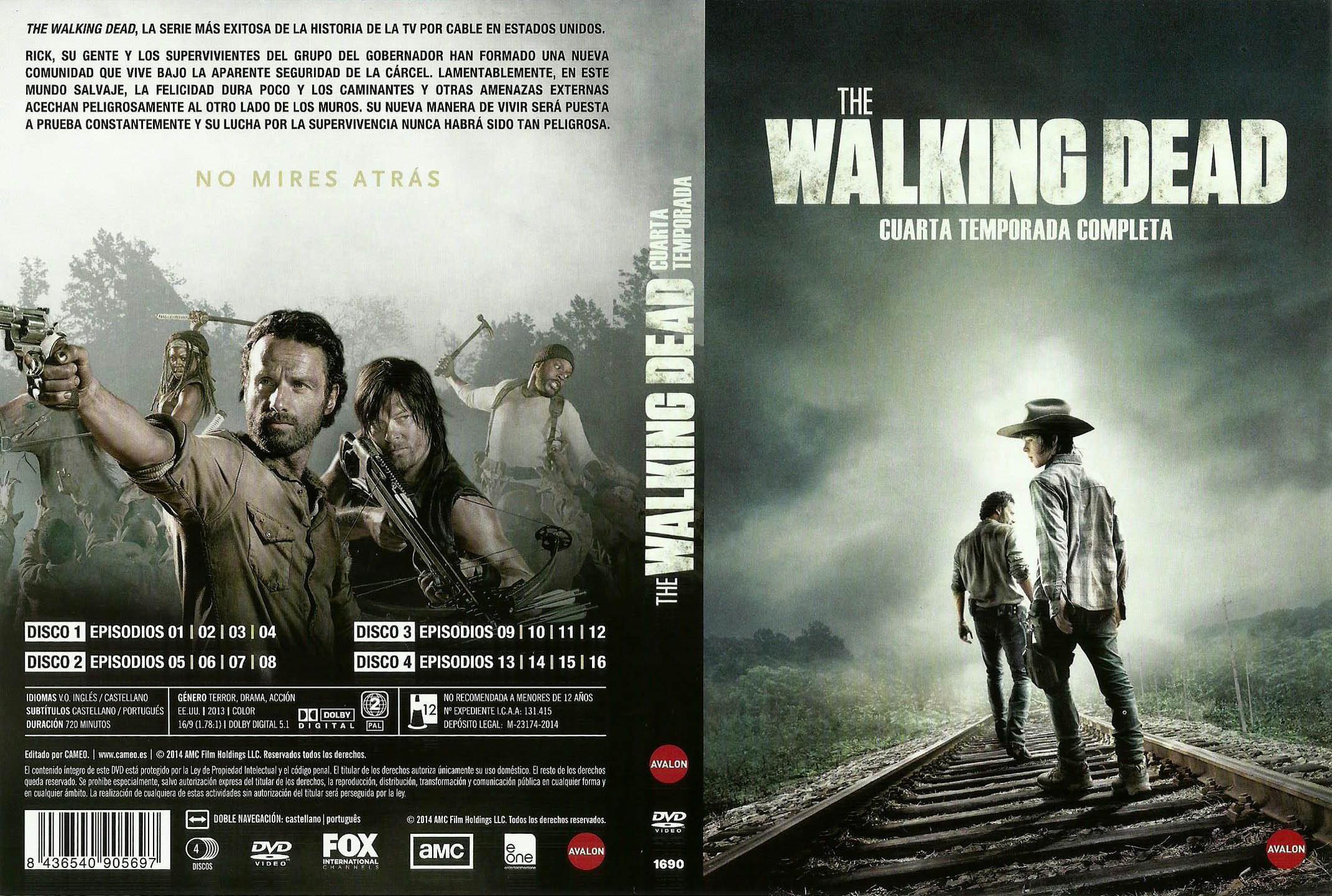 Emejing The Walking Dead Cuarta Temporada Ideas - Casa & Diseño ...