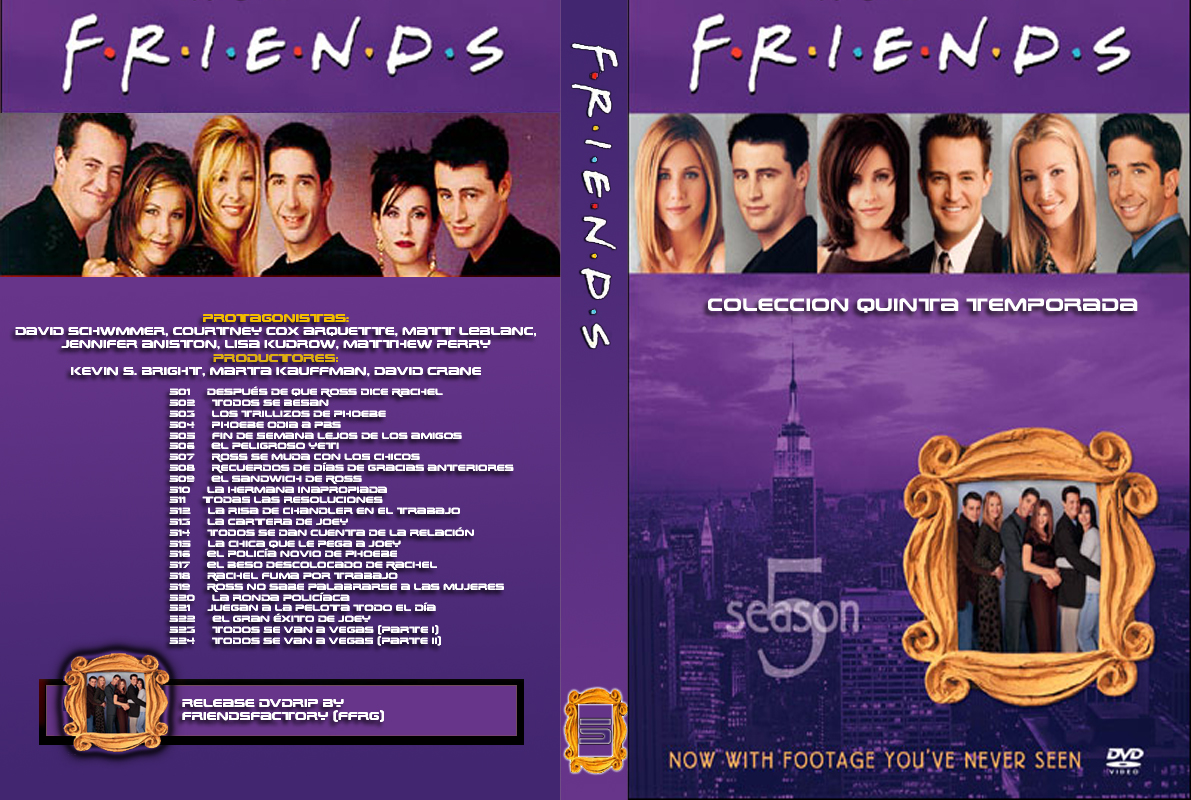Friends DVD Season 5