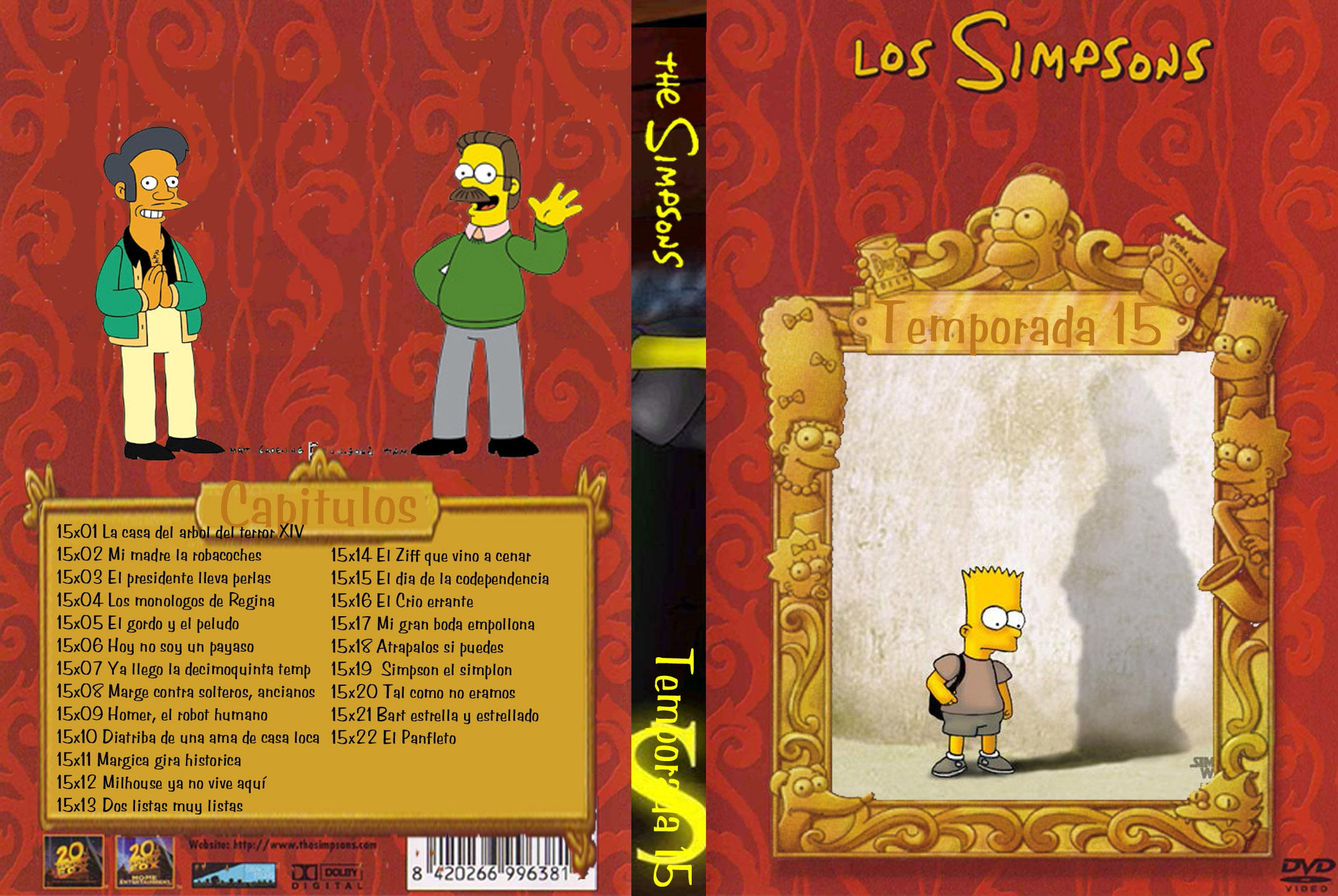 Los Simpsons – Temp 14 [DvdRip] [Latino] [MG]
